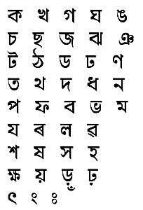 Bengali characters signs and symbols pinterest bengali thecheapjerseys Choice Image