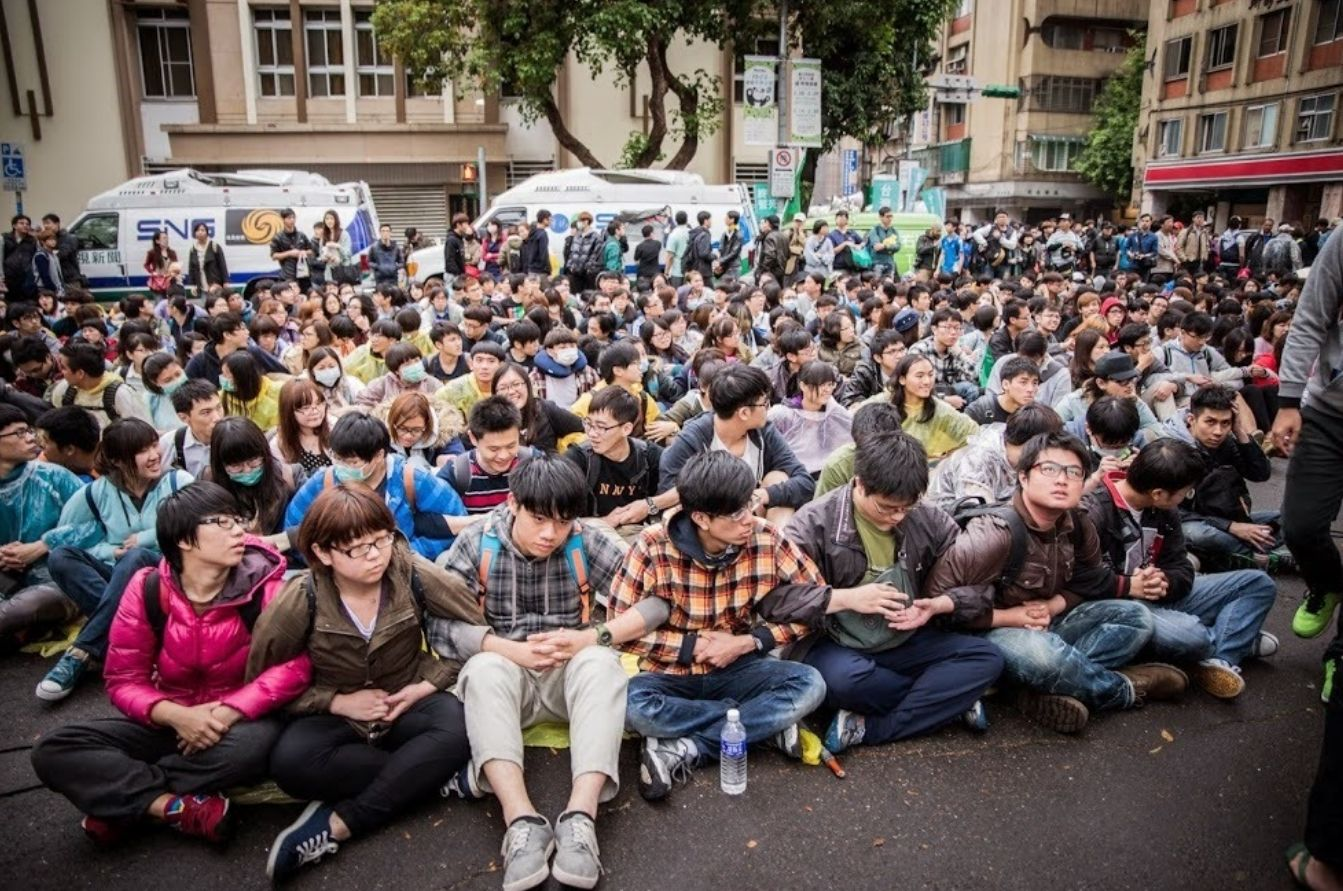Democracy at 4am : What unprecedented protest means for Taiwan.