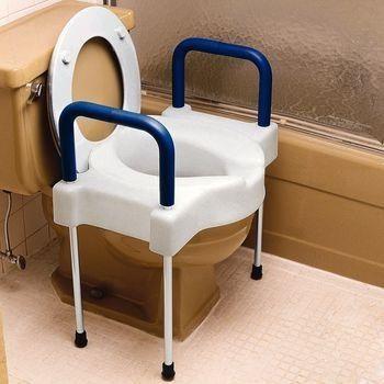 Patterson Medical SP-081534684 Homecraft Adjustable Toilet Surround