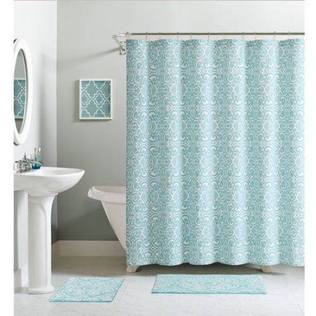 Home Luxury Homes Shower Curtain Sets Colorful Curtains