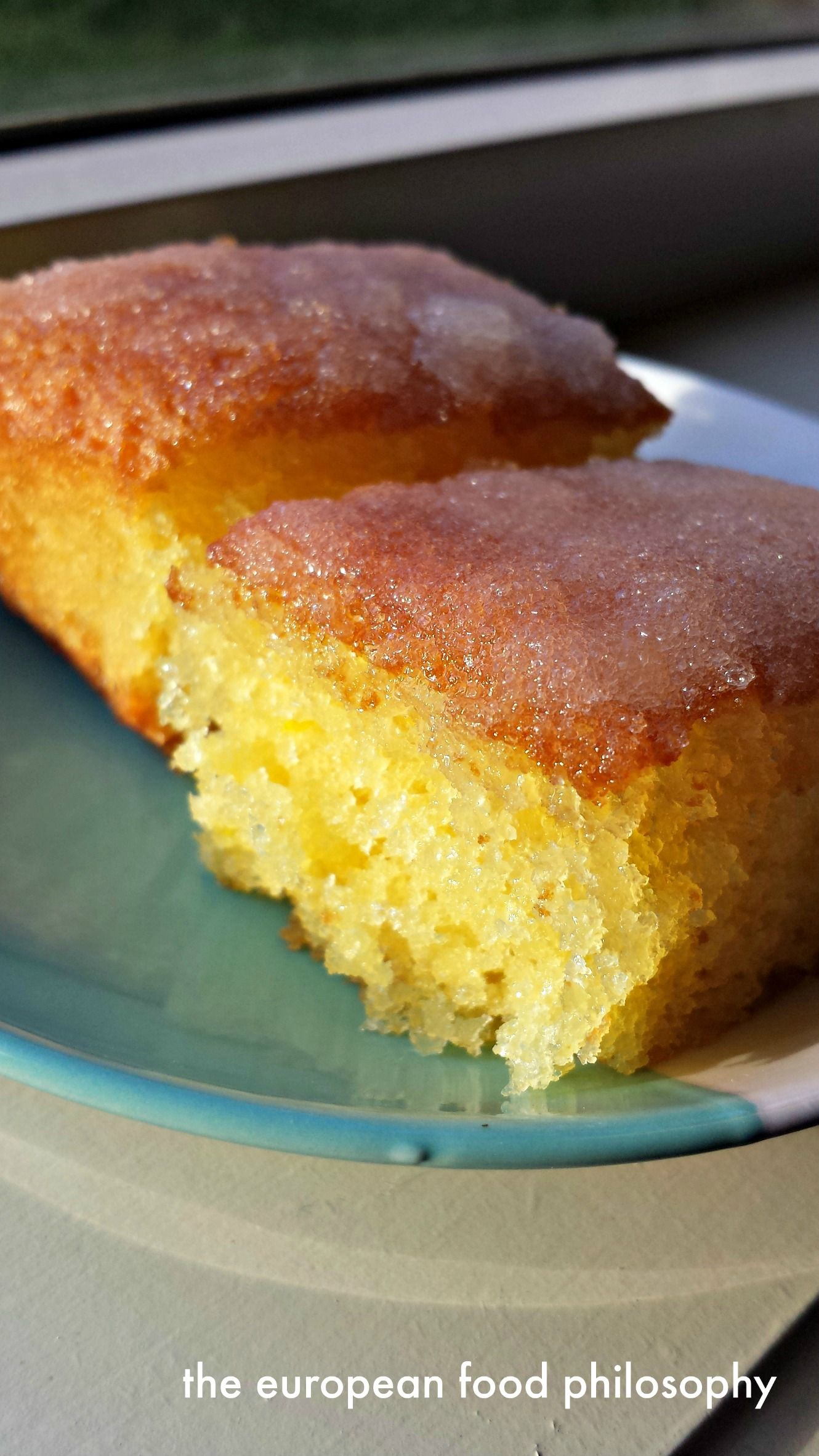 Lemon crunch cake moist light and fluffy cake with a