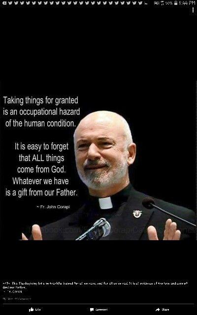 Fr john corapi zitate