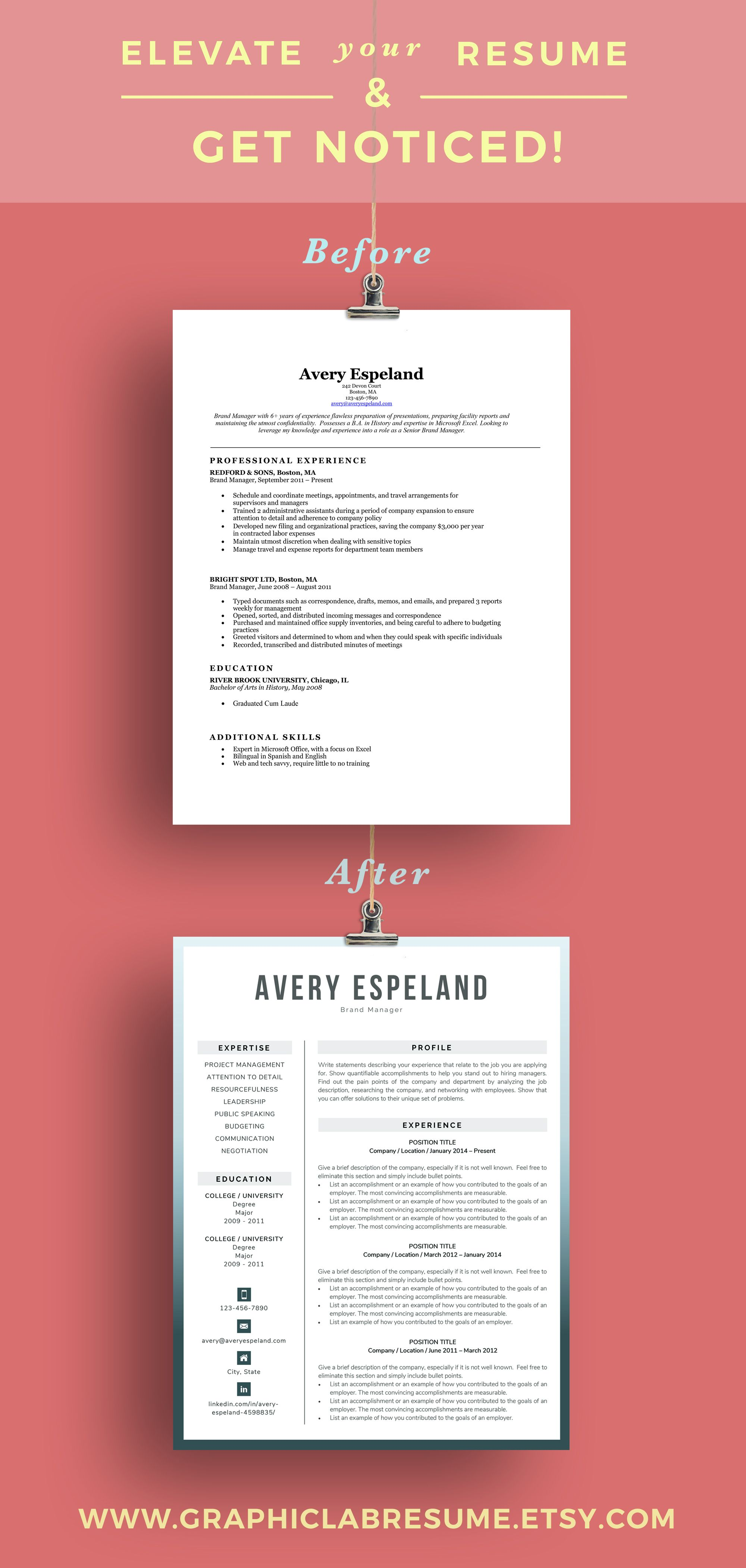 Make A Memorable First Impression With A Modern Resume Template