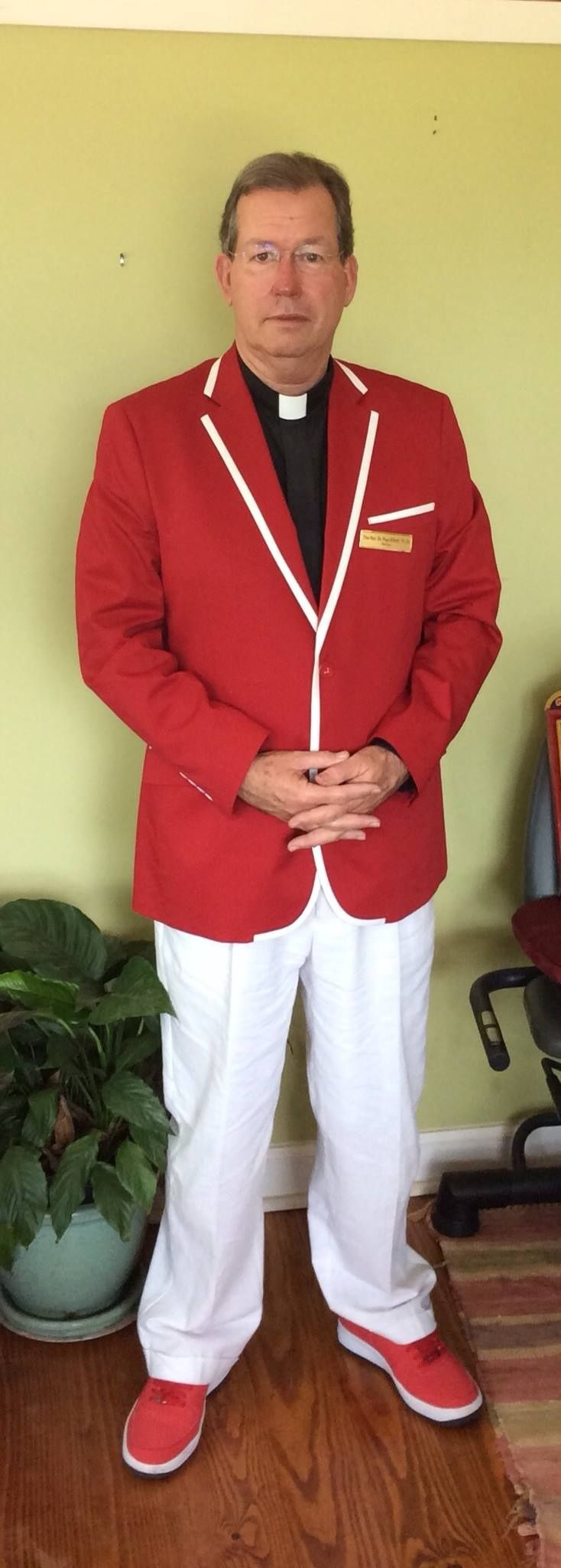 A lot of people dress up for Easter. We also dress up for Pentecost. See https://www.facebook.com/episcopalatlanta/photos/a.302784034227.146658.298949309227/10152485037524228/?type=1&theater
