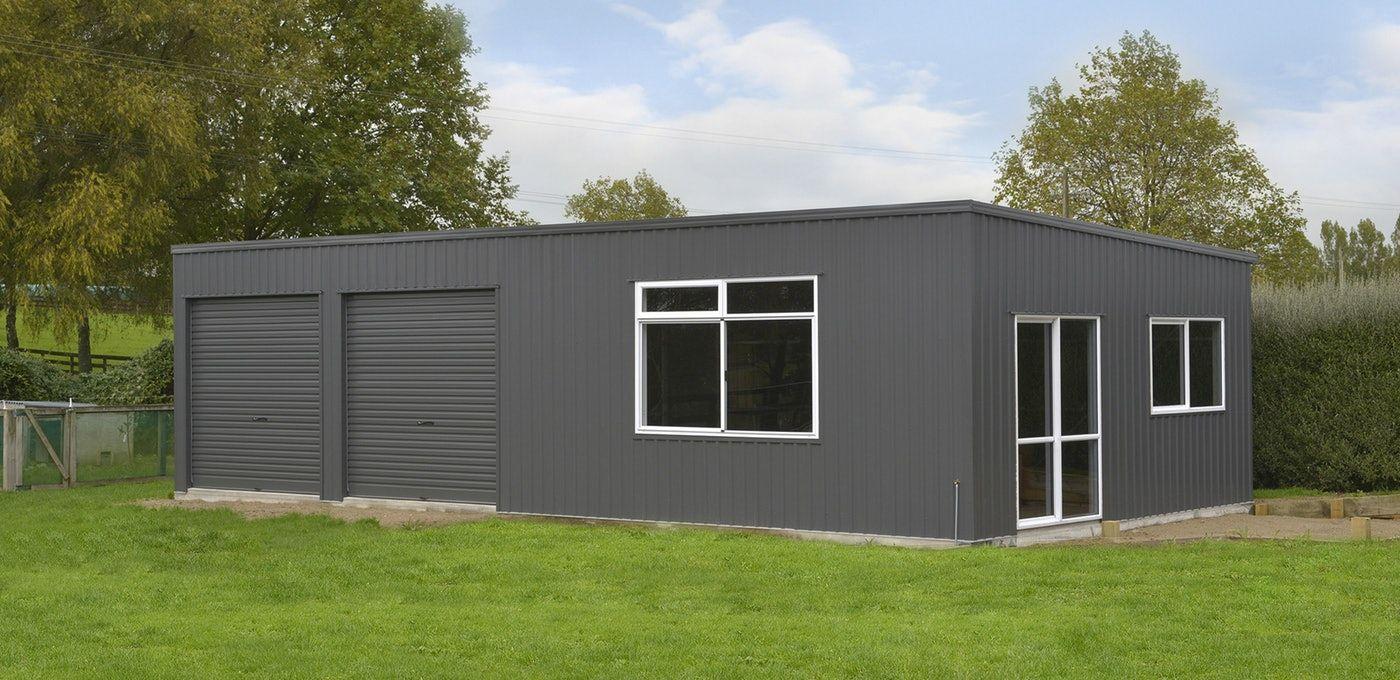 Totalspan's flat roof garages offer strong steel frame