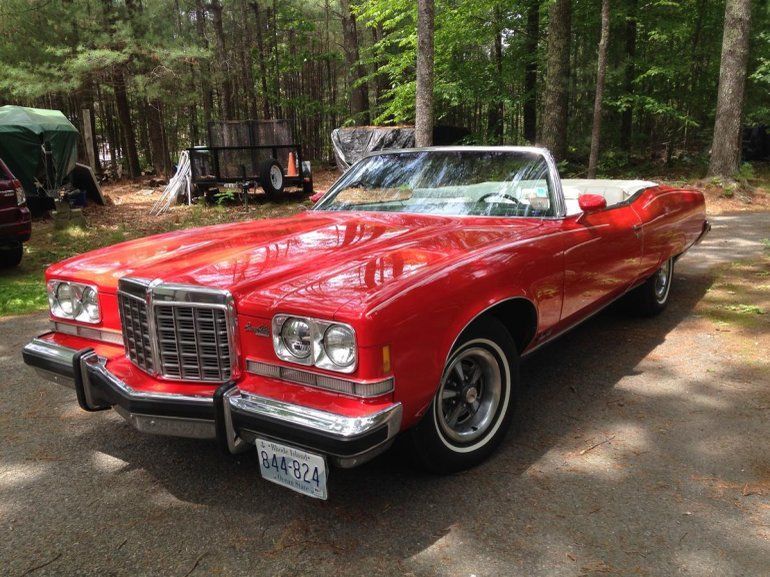 1974 Pontiac Grand Ville Convertible, reposted by #ParadisoInsurance #classiccarinsurance