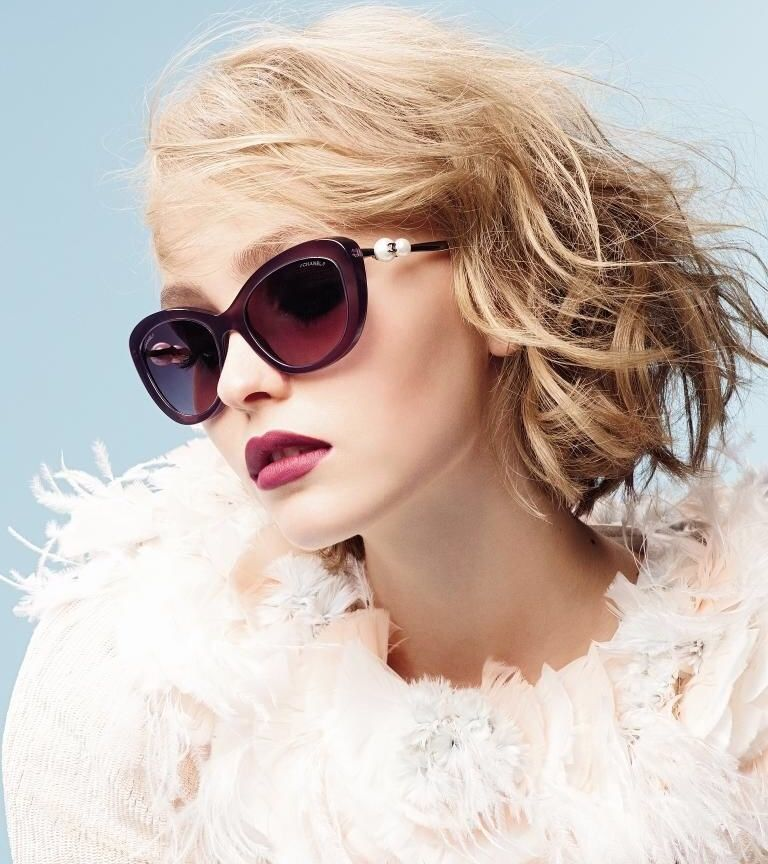 Chanel Cat Eye A71134 X08222 S5481 5340h 1548 S1 From The Pearl Collection Via Glamour Magazine Novem Eyewear Trends Trending Sunglasses Eyewear Inspiration