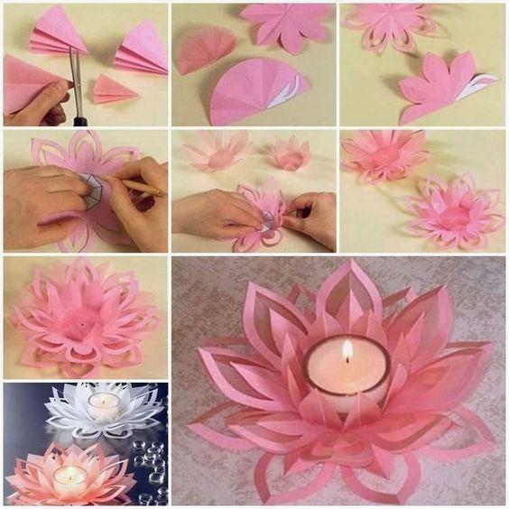 Mira estas lindas manualidades y decora tu casa con tu imaginación a un costo bajo