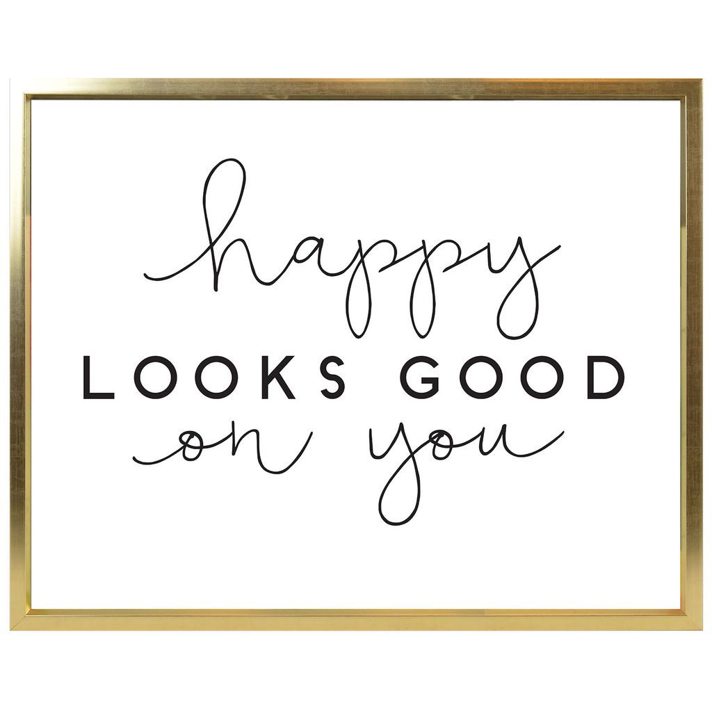Buy the Happy Looks Good Wall Mirror By Ashland® at Michaels.com ...