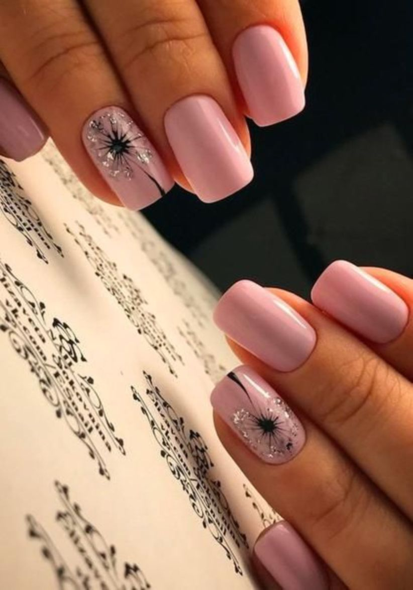 57 Romantic Schemes Nail Design Color For Wedding 2019 With