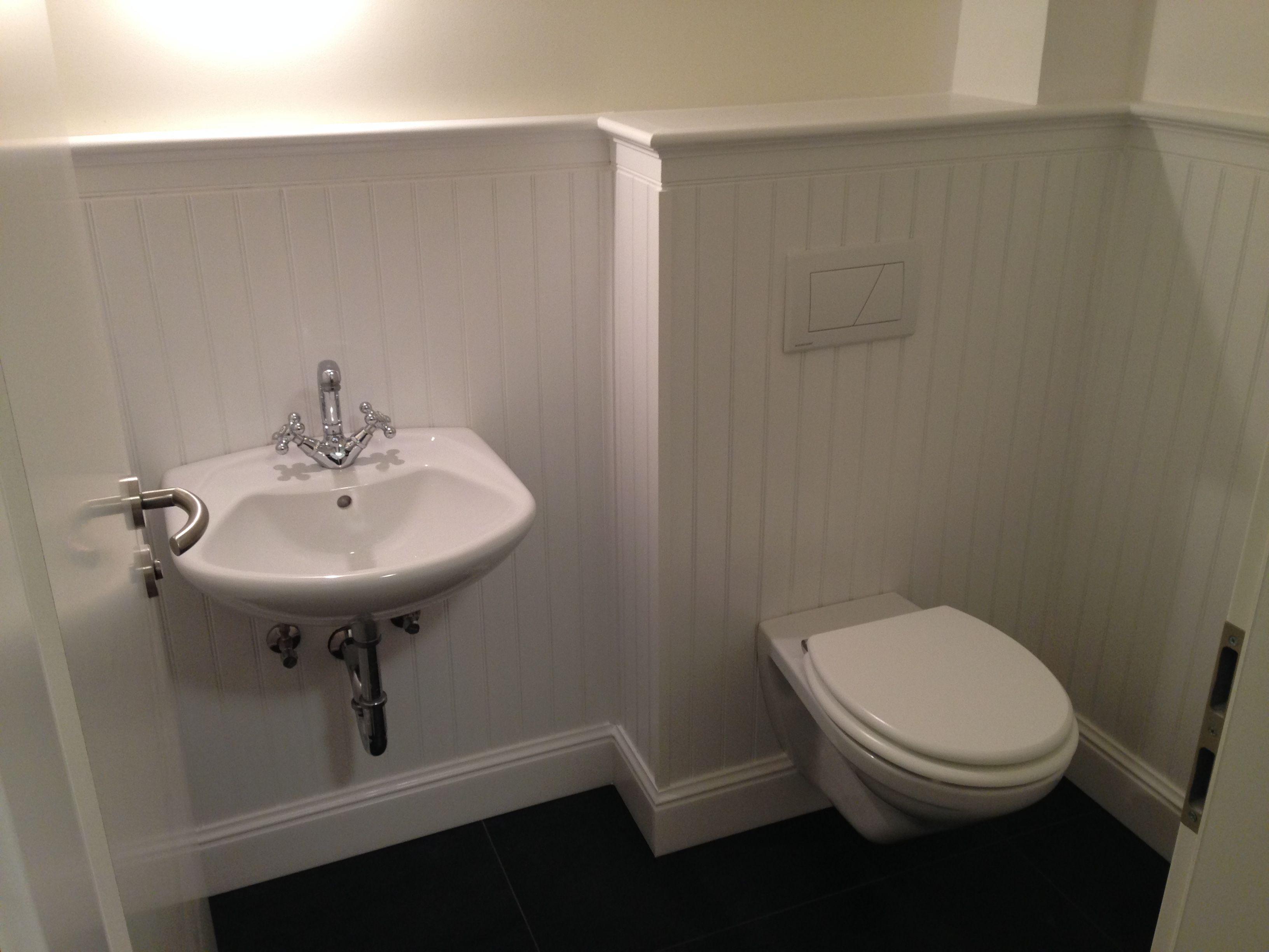 g ste wc powder room no tiles wandverkleidung wohnliches bad pinterest. Black Bedroom Furniture Sets. Home Design Ideas