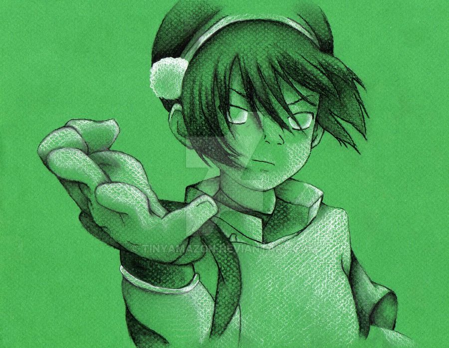 #2 in the Avatar series : TOPH! She is my favourite character from the series, and this is my favourite still from her first episode. Dedicated to my friend Christine, who introduced me to the seri...