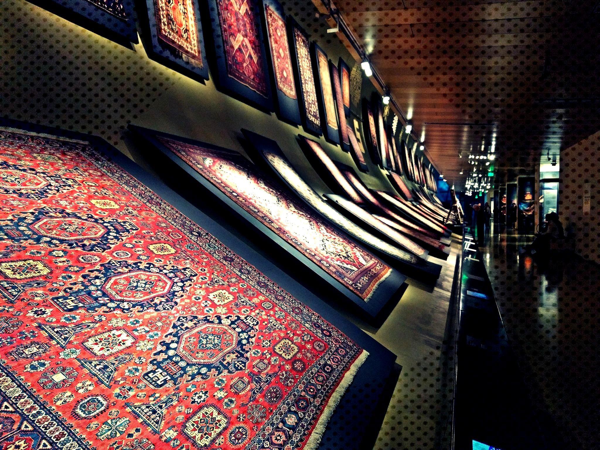 Azerbaijan Carpet Museum ... Azerbaijan Carpet Museum ...  Teppichmuseum von Aserbaidschan Aserbai
