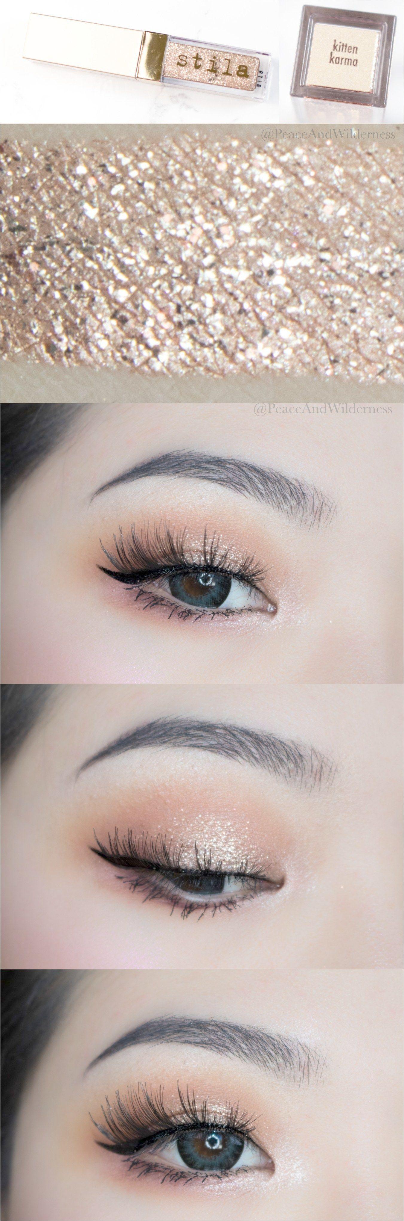 Loose Glitter Eyeshadow Glue because Eye Makeup Tips Kajal