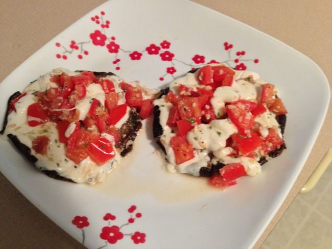 Stuffed Portobello Mushrooms - Check out my blog for more recipes and food tutorials!