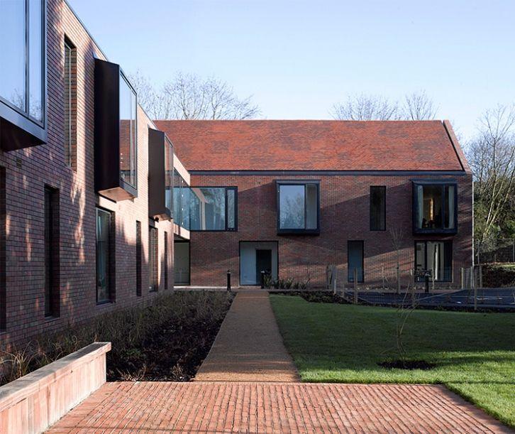 Duggan Morris Architects Yew Tree Lodge Hillingdon London