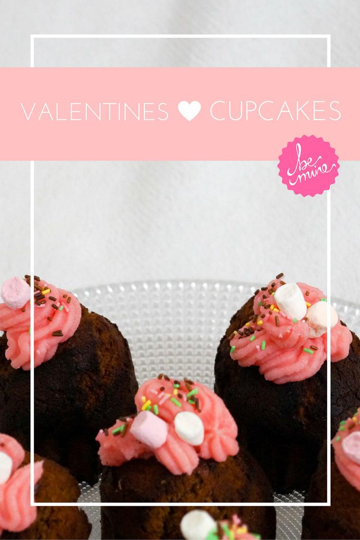 Cupcakes de Saint Valentin