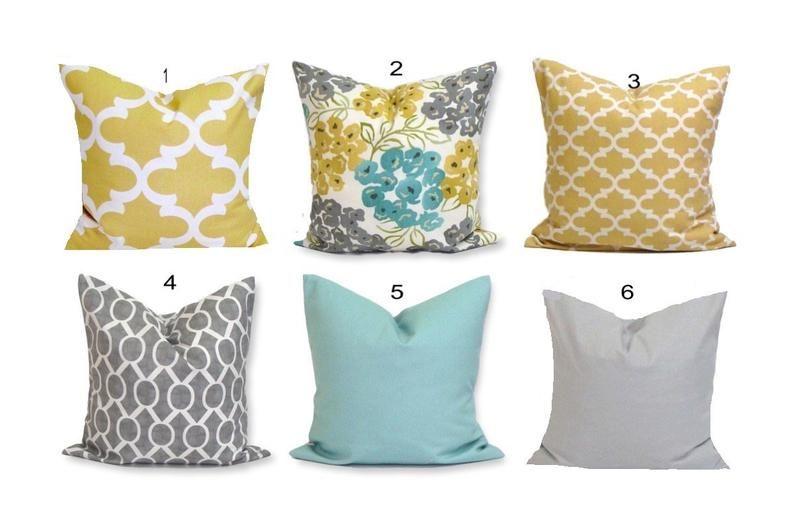 Decorative Pillow Cover Teal Pillow Floral Pillow Cover Teal Pillow Cover