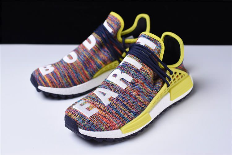 53c9c0101 Adidas Human Race NMD Multicololor shoes by the body decoration ...