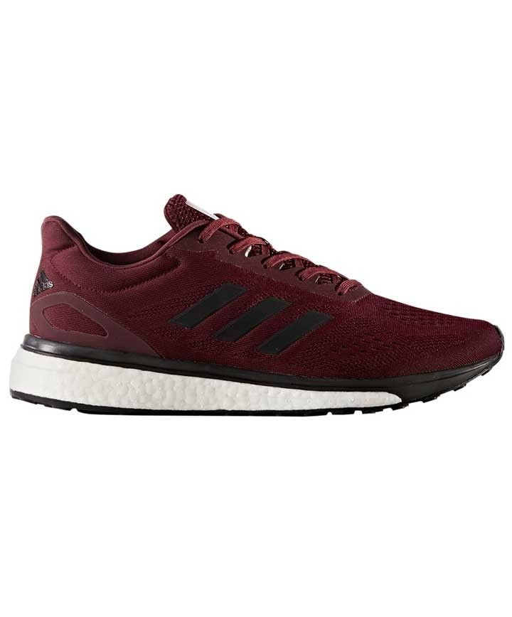 Adidas Maroon Response Boost Lt Shoes OUTFIT OF THE DAY