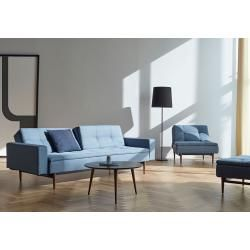 Photo of Innovation Dublexo Wood Styletto Soft Indigo 558 – sovesofa InnovationInnovation