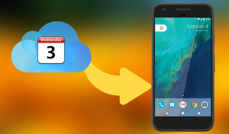 How to Transfer iCloud Calendar from iPhone to Android