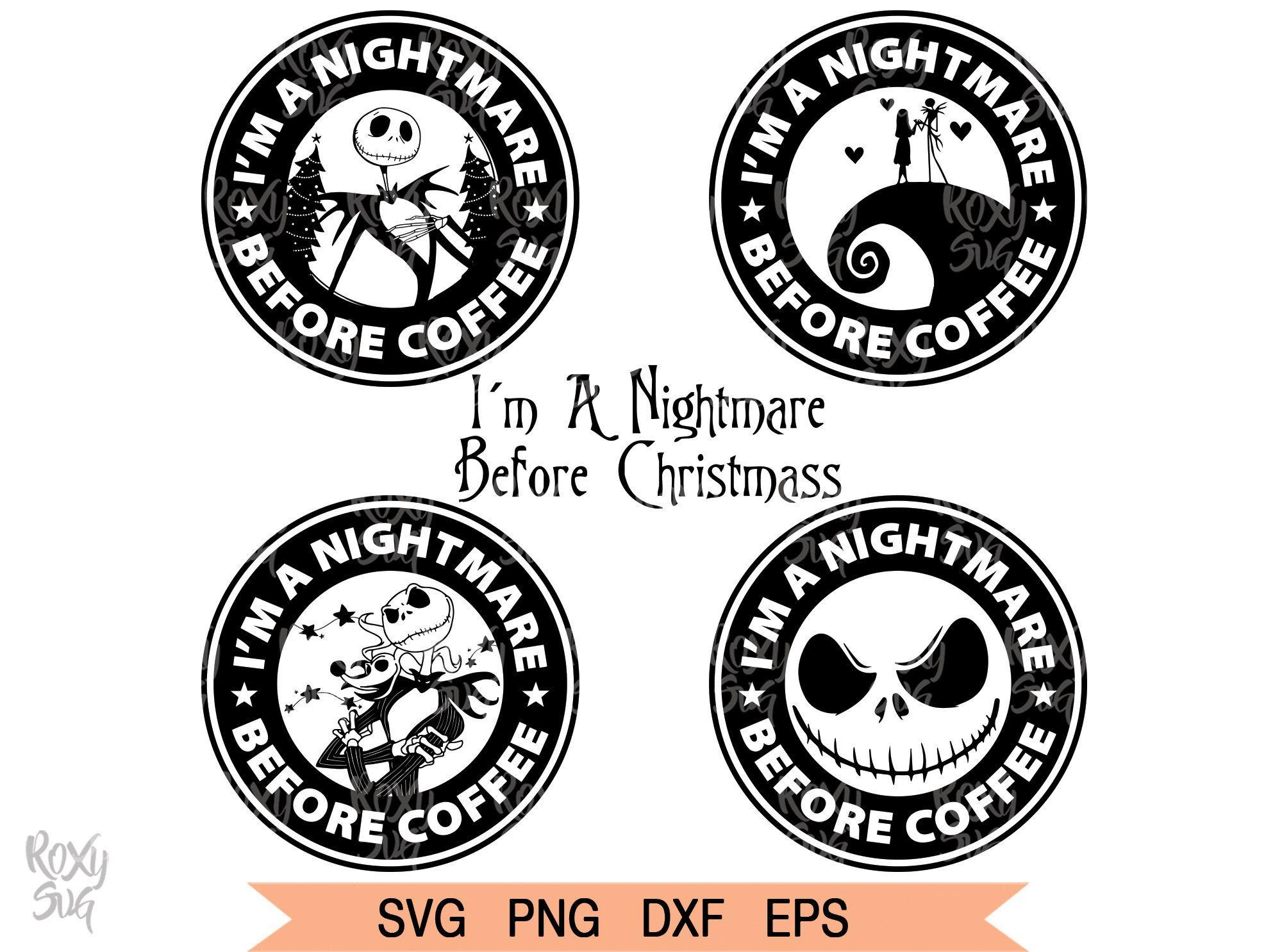Im A Nightmare Before Christmas SVG, Christmas svg files