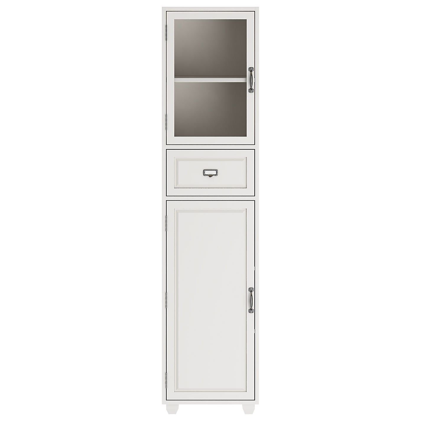 John Lewis Partners Apothecary Single Bathroom Tallboy Bathroom Tallboy Freestanding Bathroom Cabinet Fitted Bathroom Furniture