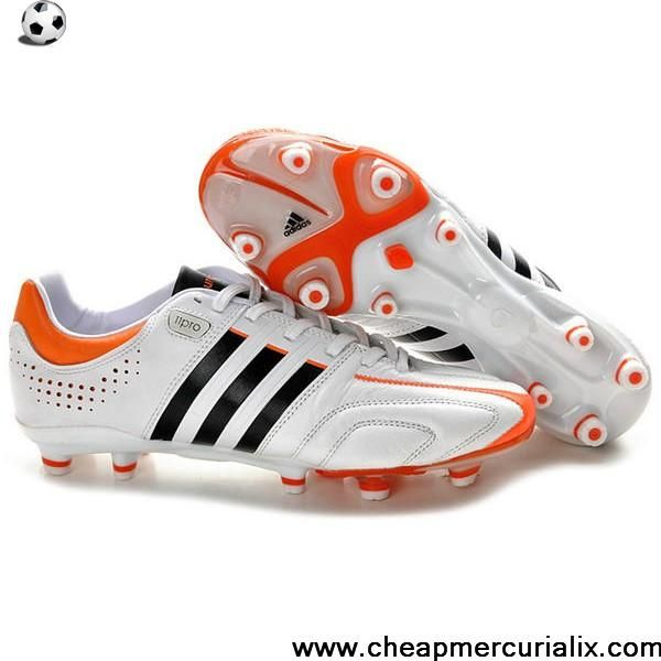 best deals on 8b217 06c95 Buy New adidas adipure 11Pro TRX FG MiCoach White Warning Black Soccer Shoes  For Sale