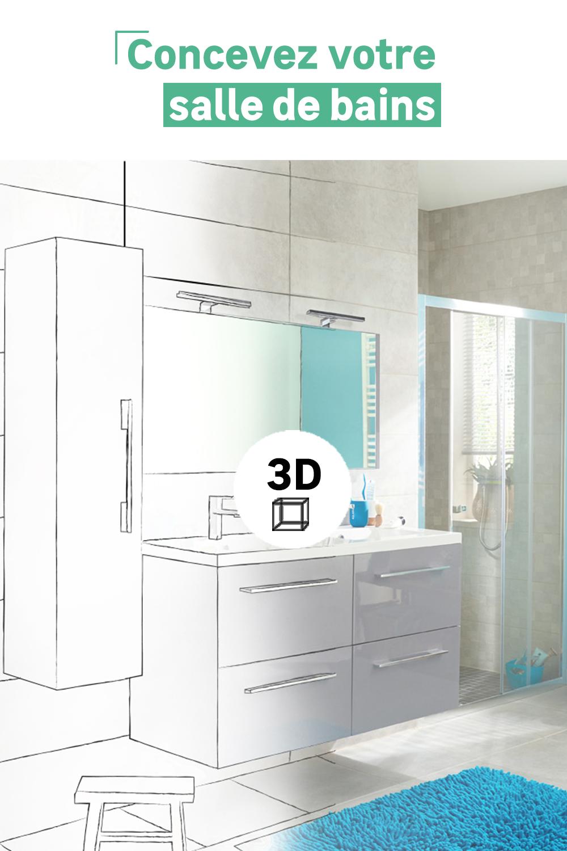 Avec Notre Configurateur 3d Imaginez Votre Salle De Bains