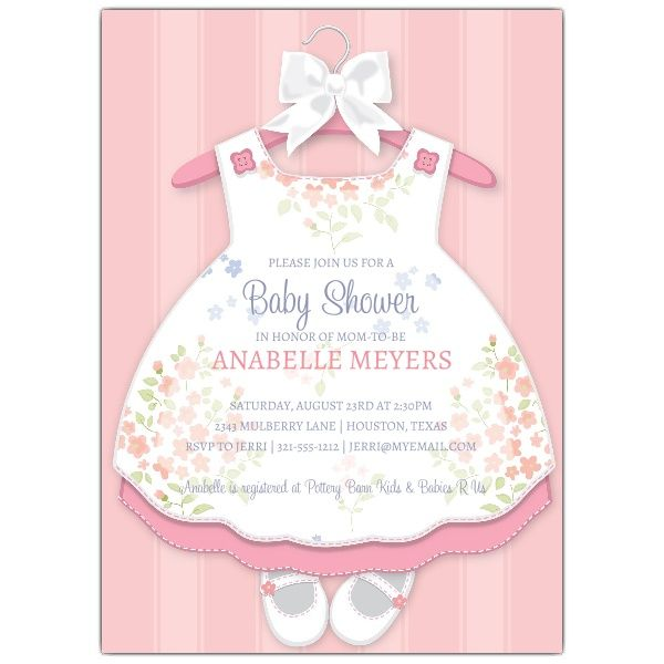 Nice Create Own Baby Shower Invitations For A Girl Baby Shower Invites For Girl Girl Invitations Baby Invitations