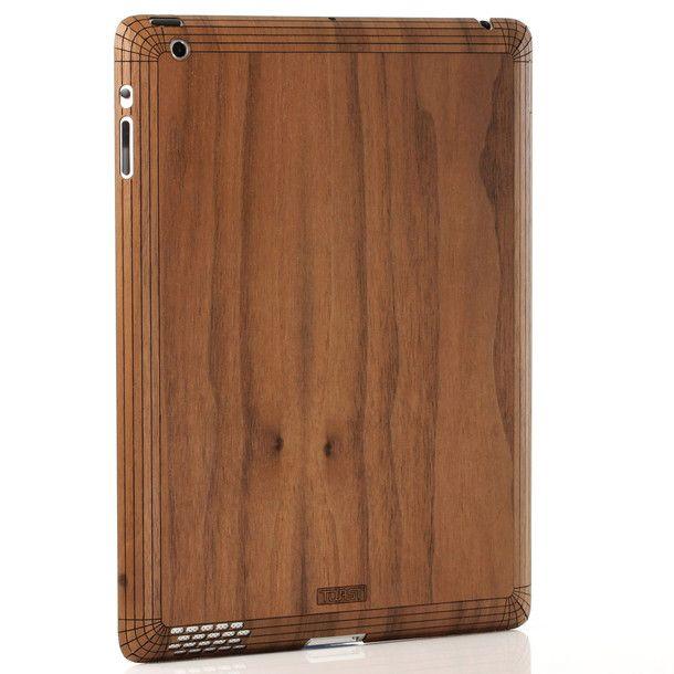 iPad Case Plain Walnut
