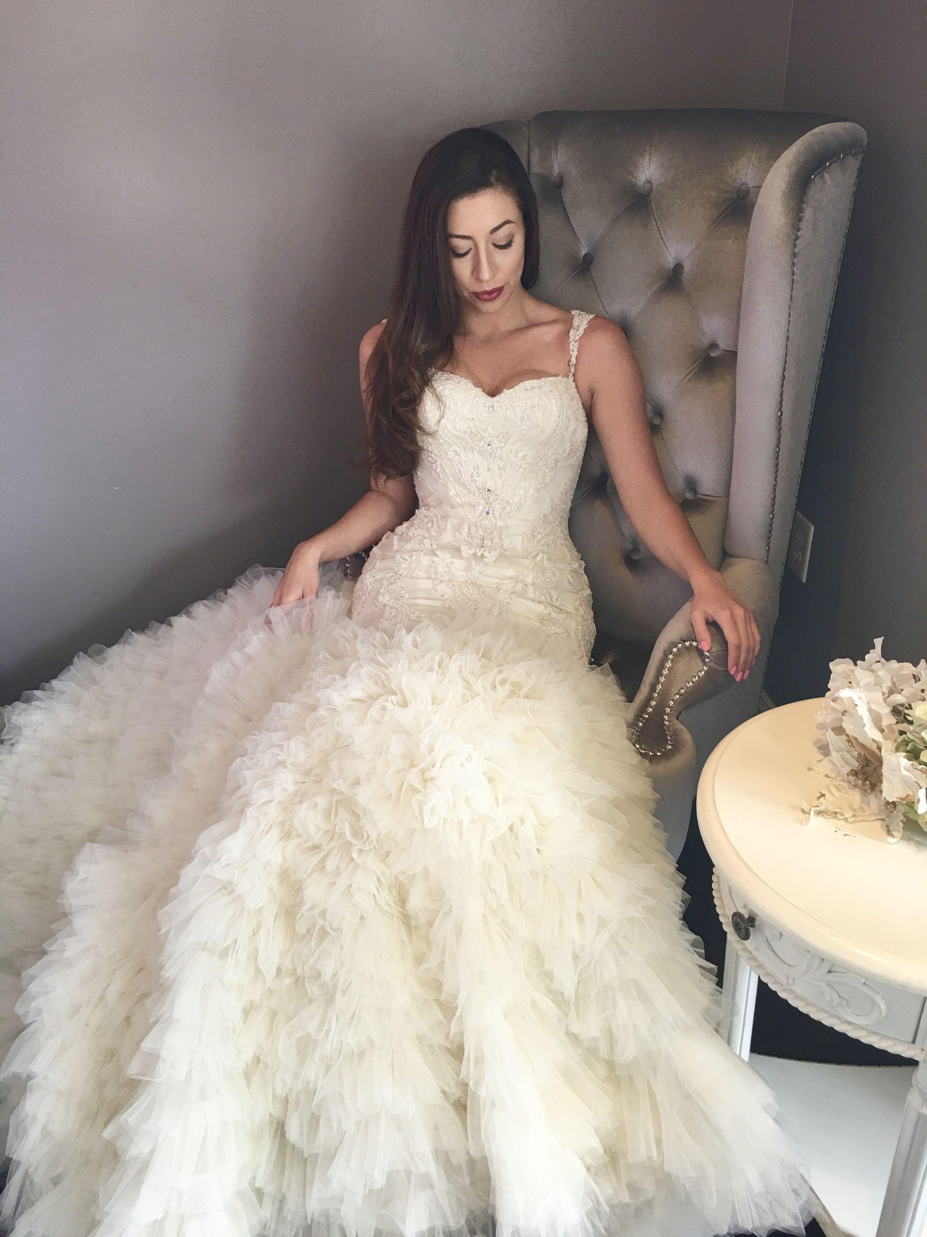Unique Designer Wedding Dresses Custom Bridal Dresses And Gowns Wedding Dresses Custom Bridal Dress Fit And Flare Wedding Dress [ 4032 x 3024 Pixel ]