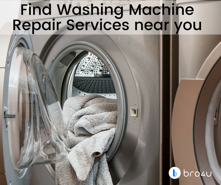 Are you looking for Washing machine repair services? Bro4u
