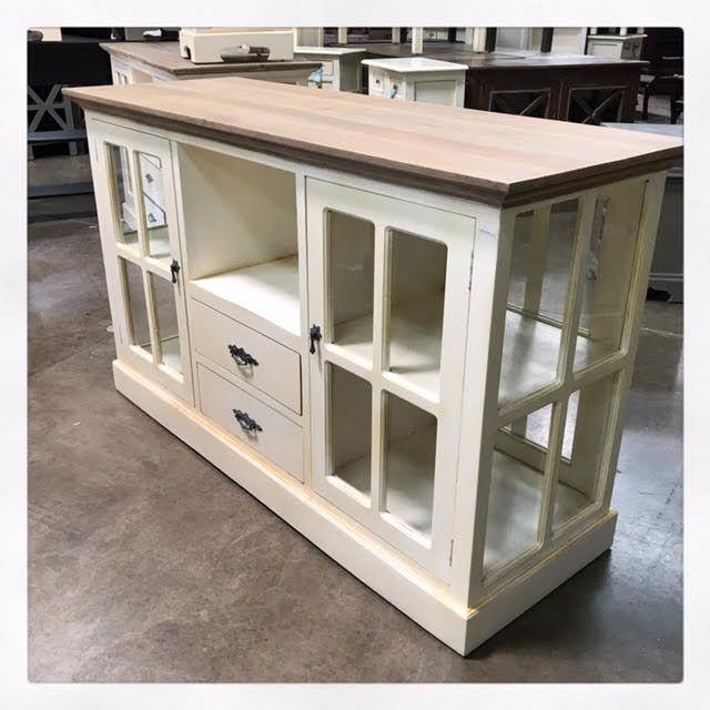Island With Glass Doors In 2020 Glass Door Nadeau Furniture