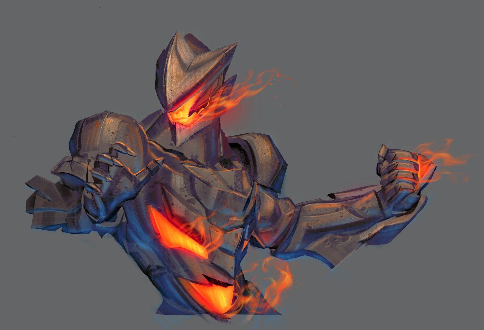 ArtStation Character concept, Aleksei Shatunov Robot