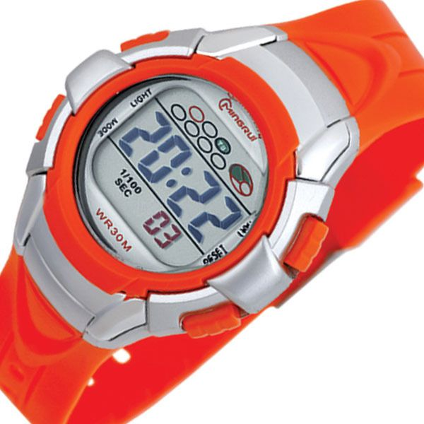 New Sport Watch For Men And Women 30M Waterproof Multifunction Dive Climbing Watch LCD Movement Military Watches-inWristwatches from Watches...