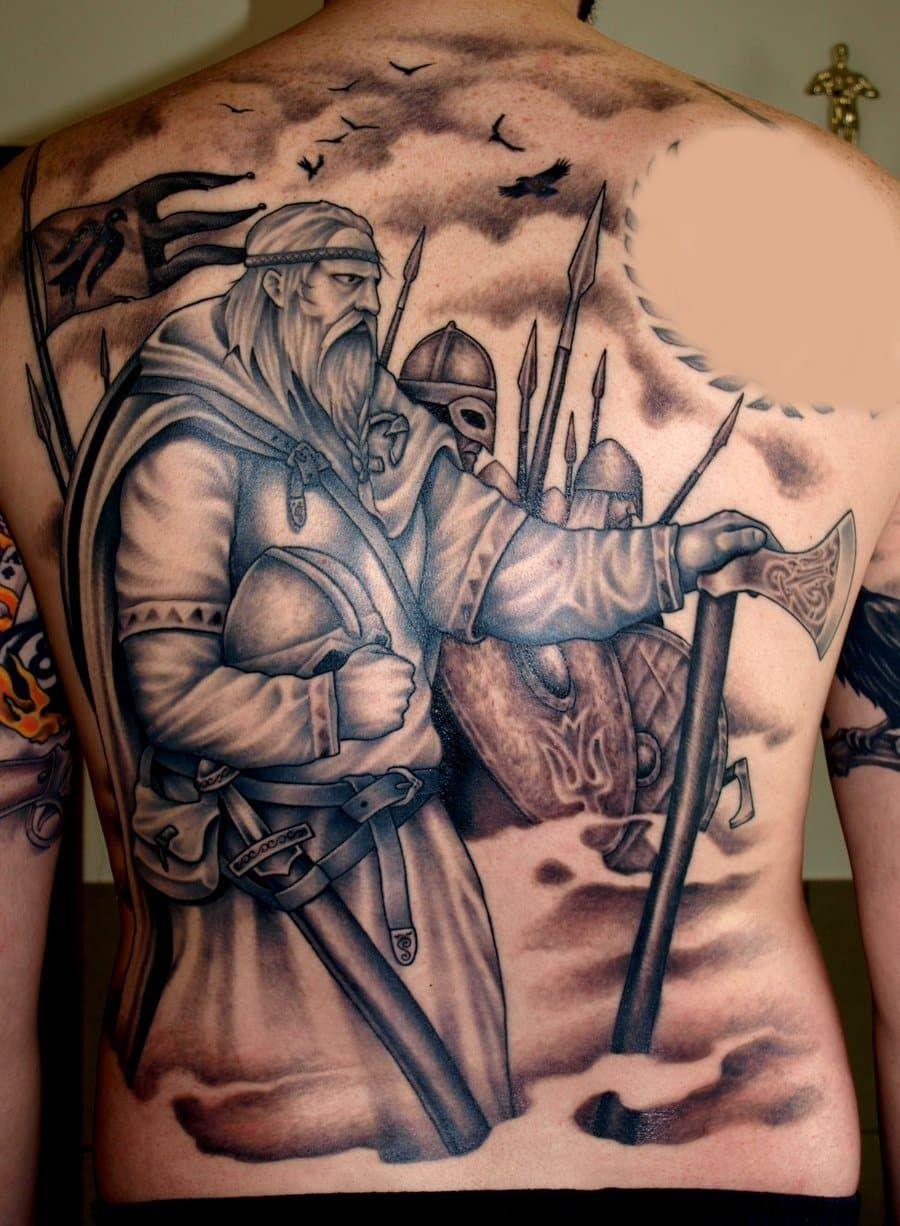 Viking Tattoos for Men Татуировки викингов, Идеи