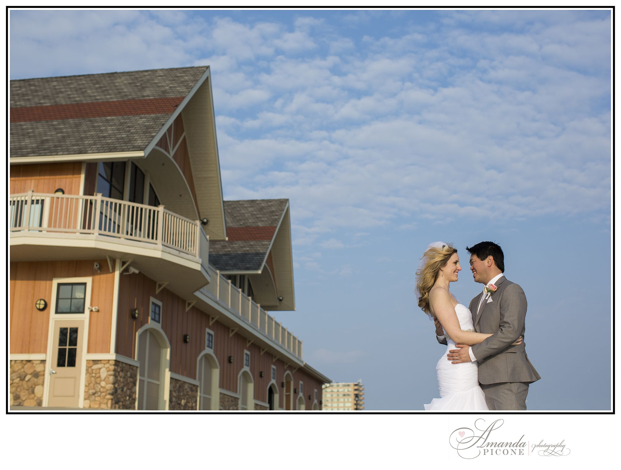 Drew and emilys wedding at the camden county boathouse in