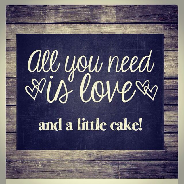 For the love of cakes!