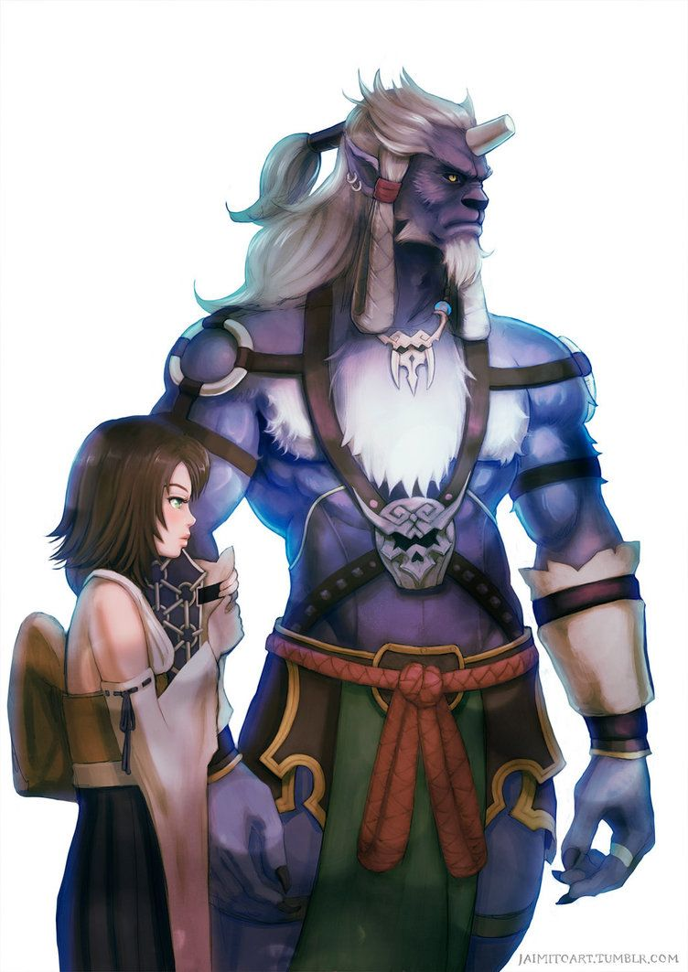 b18353921 I don t know why I haven t made more Final Fantasy X fan art since i m a  huge fan of the game. Back when the game was released all my school papers  were ...