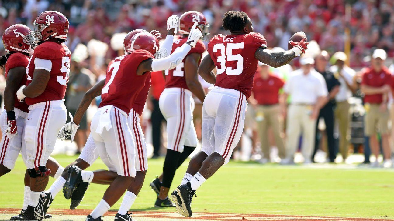 Nick Saban, Alabama's freshmen tackling the unexpected on