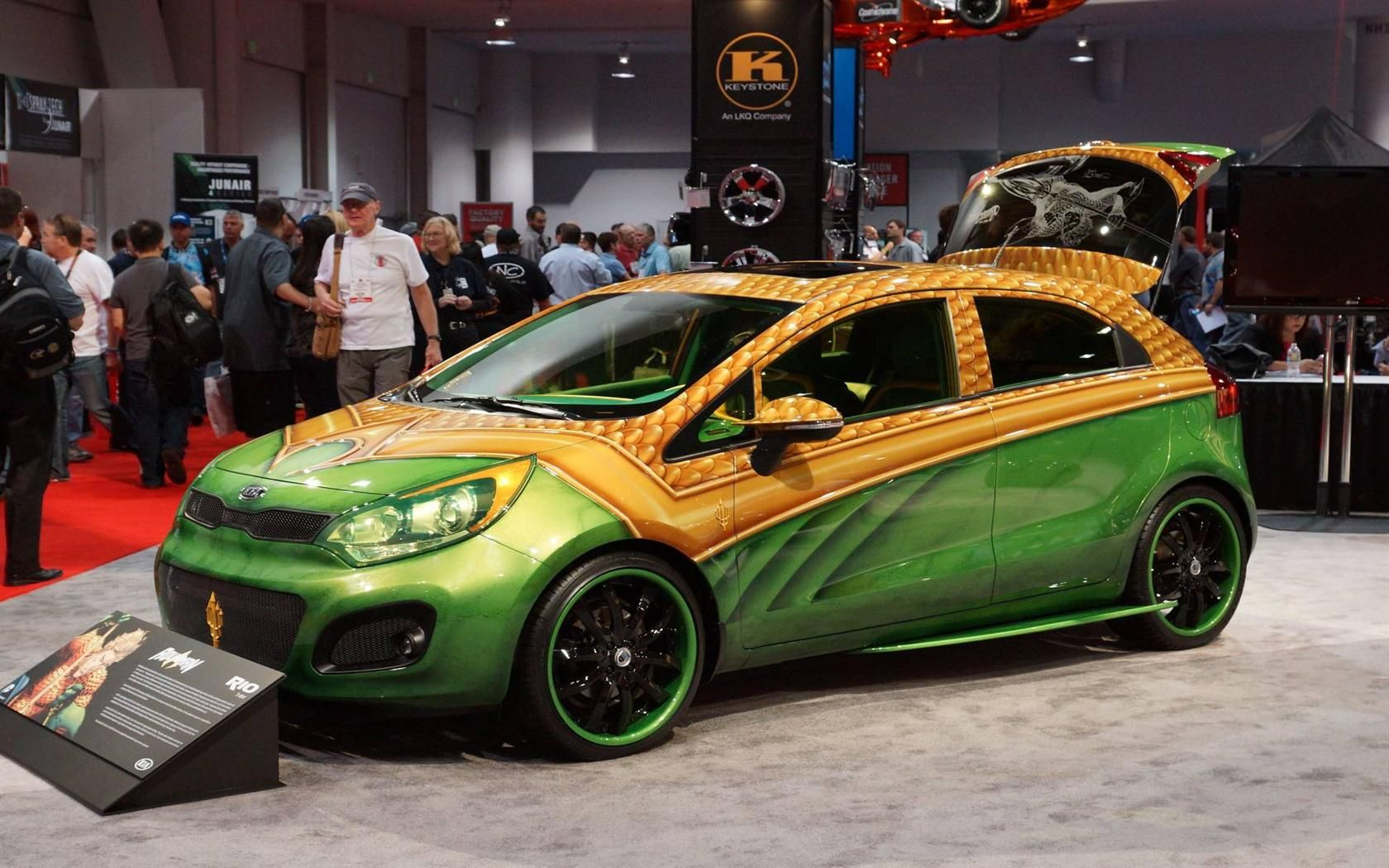 Kia Brings A Plethora Of Customized Vehicles To The 2018 Sema Show
