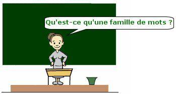 Cours de Français CE2 - Les familles de mots - Maxicours ...