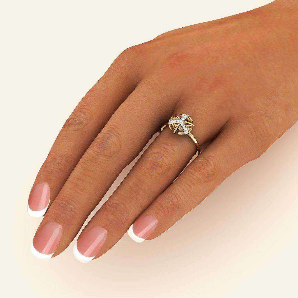 Caramel Axis Ring