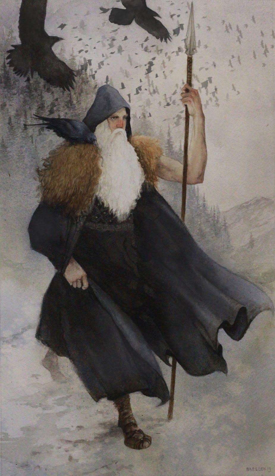 Odin the Wanderer By Jeff Breeden