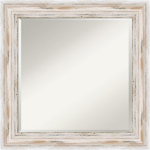 Large White Washed Wood Mirror Perfect For Beach Cottage Style Living Http