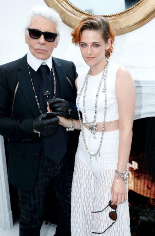 Kristen Stewart on Paris Fashion Week on Chanel Haute Couture show