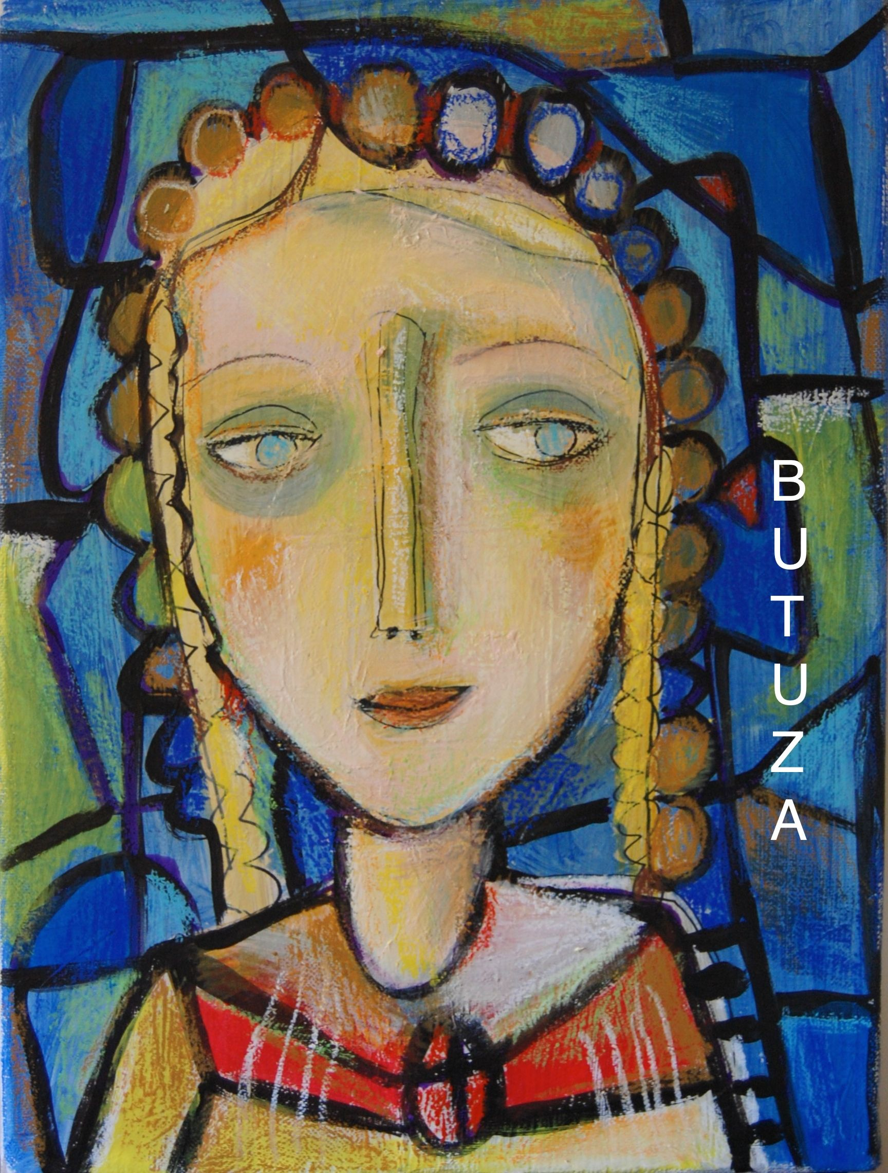 Swiss Artist Painter   Painted by Cathy Butuza