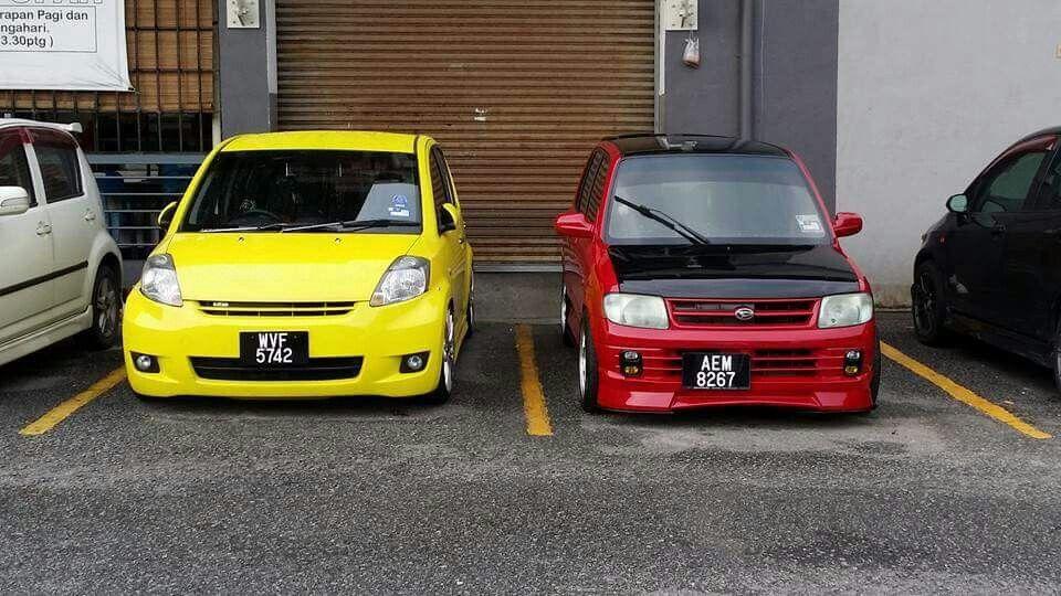 Mira Cuore In Malaysia Daihatsu Kei Car Stance Cars